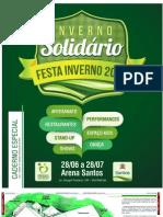 Inverno solidário Santos