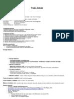 Proiect Didactic - Tablouri Bidimensionale - Aplicatie
