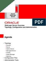 Weblogic Server Overview - Topology Configuration Administration