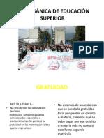 SENPLADES LEY ORGÁNICA DE EDUCACIÓN SUPERIOR
