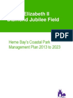 QE2 Coastal Park Management Plan 2013-2023