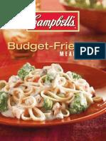 Campbells Budget Friendly Recipes