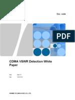 CDMA VSWR Detection White Paper V1.0(20091015)