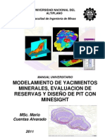 Manual Modelamiento MineSight