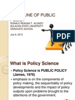 Policy Science