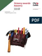 3529-02 Masonry Qualification Handbook v1