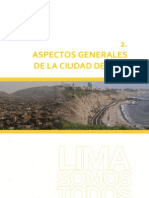Aspectos Generales de La Ciudad de Lima