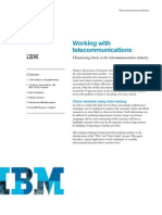 Reducing Churn in Telco IBM
