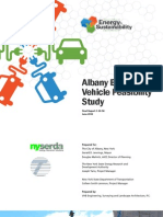 Albany, New York Electric Vehicle Feasibility Study, prepared by VHB Engineering for the City of Albany Mayor's Office and Department of Planning, June 2012