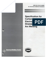 Aws a5.1-A5.1m_specifications Carbon Stell Electrodes for Smaw