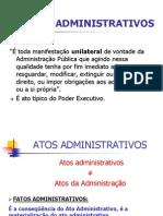 Direito Administrativo-Atos Administrativos
