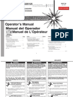 Lincoln AC 225 & AC/DC 225/125 Operators Manual