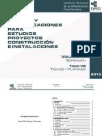 Volumen 6 Tomo VIII Techos y Plafones