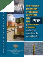 Guia de Acceso y Viabilización de Proyectos Aguas