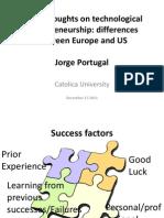 Story Two Entrepreneurship Cultures Maria Correia
