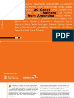 30 Great Authors From Argentina