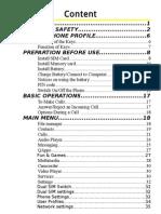 Q Mobile - X5 User Manual