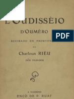 L'oudissèio d'Oumèro / revirado au prouvençau pèr Charloun Riéu