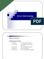 8-Server Side Scripting