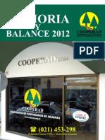 Memoria y Balance 2012 Full