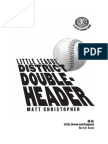 District Doubleheader by Matt Christopher (SAMPLE)
