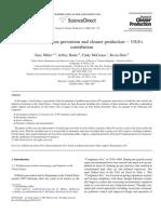 prevenção de poluição USA - 2007