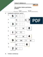 1-6 Menulis Nombor Dalam Perkataan
