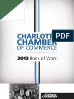 Charlotte Chamber 2013 Book of Work