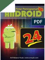 24JAM!! Pintar Pemrograman Android #1