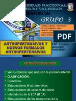 Antihipertensivos y Nuevos Farmacos
