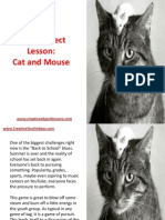 Youth Object Lesson - Cat and Mouse