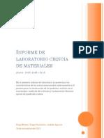 Informe Lab Ciencia Materiales