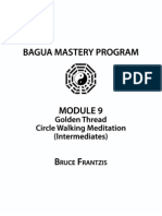 3 Golden Thread Circle Walking Meditation