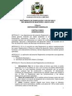 Reglamento Zonificacion de Monterrey 2012