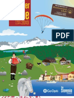 Slovenia's Summer Guide 2013