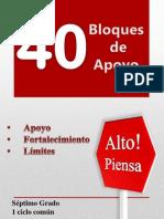 I Nivel Alto y Piensa! 40 Bloques