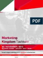 Marketing Kingdom Tashkent