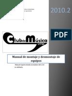 Manual de Montaje y Desmontaje de Equipos v2.1
