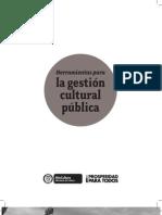 Mincultura - Herramientas para la gestión cultural pública