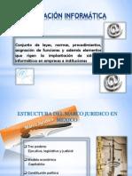 5.1 Estructura del marco jurídico en México