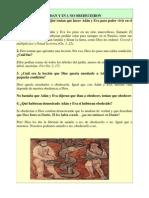 La Desobediencias de Adan y Eva