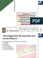 Criminalistica II Investigacion Muertes Arma Blanca 2