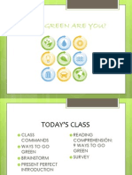 How Green Are You