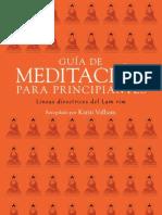 Gu%C3%ADa de Meditaci%C3%B3n Para Principiantes