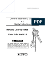 L5 Owner's Manual (Rev.0305-KC-04)