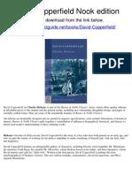 David Copperfield Nook Edition
