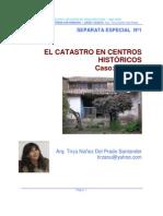 EL CATASTRO EN LOS CENTROS HISTORICOS ARQ. TIRZA NUÑEZ.pdf