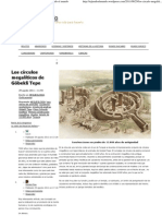 Círculos megalíticos de Göbekli Tepe
