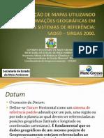 Apresentação-Conversão de Mapas - SAD-SIRGAS