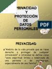 5.4Privacidad y protección de datos
